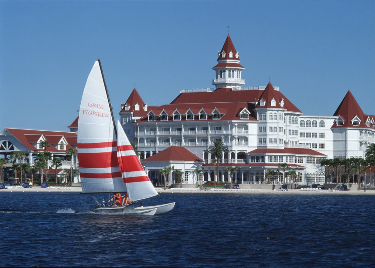 Grand Floridian Water