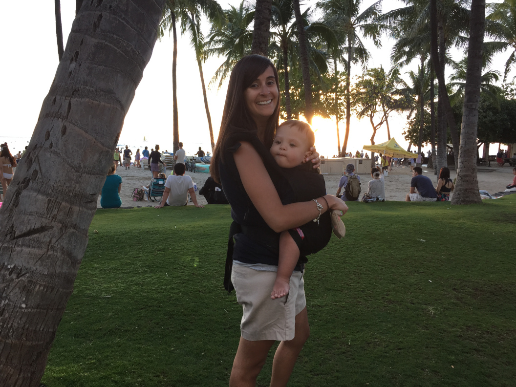 Stacy and Chase in Hawaii