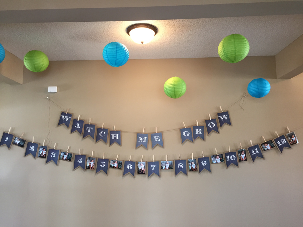 Chase 1st Birthday Decoration