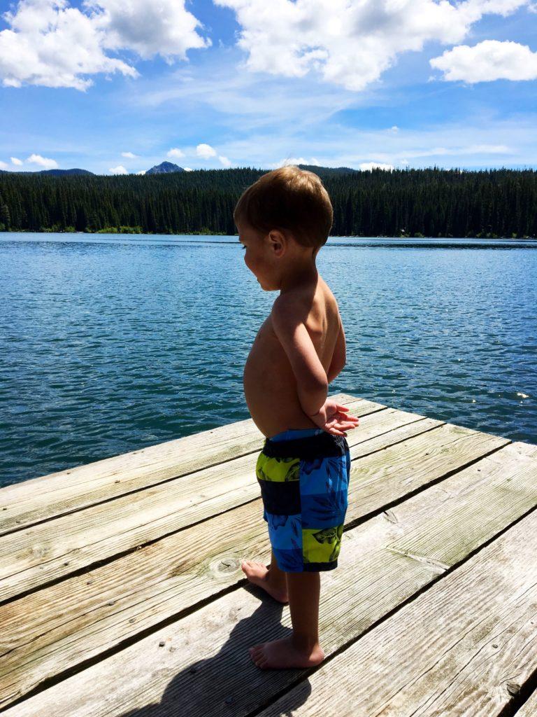 Chase at the Lake