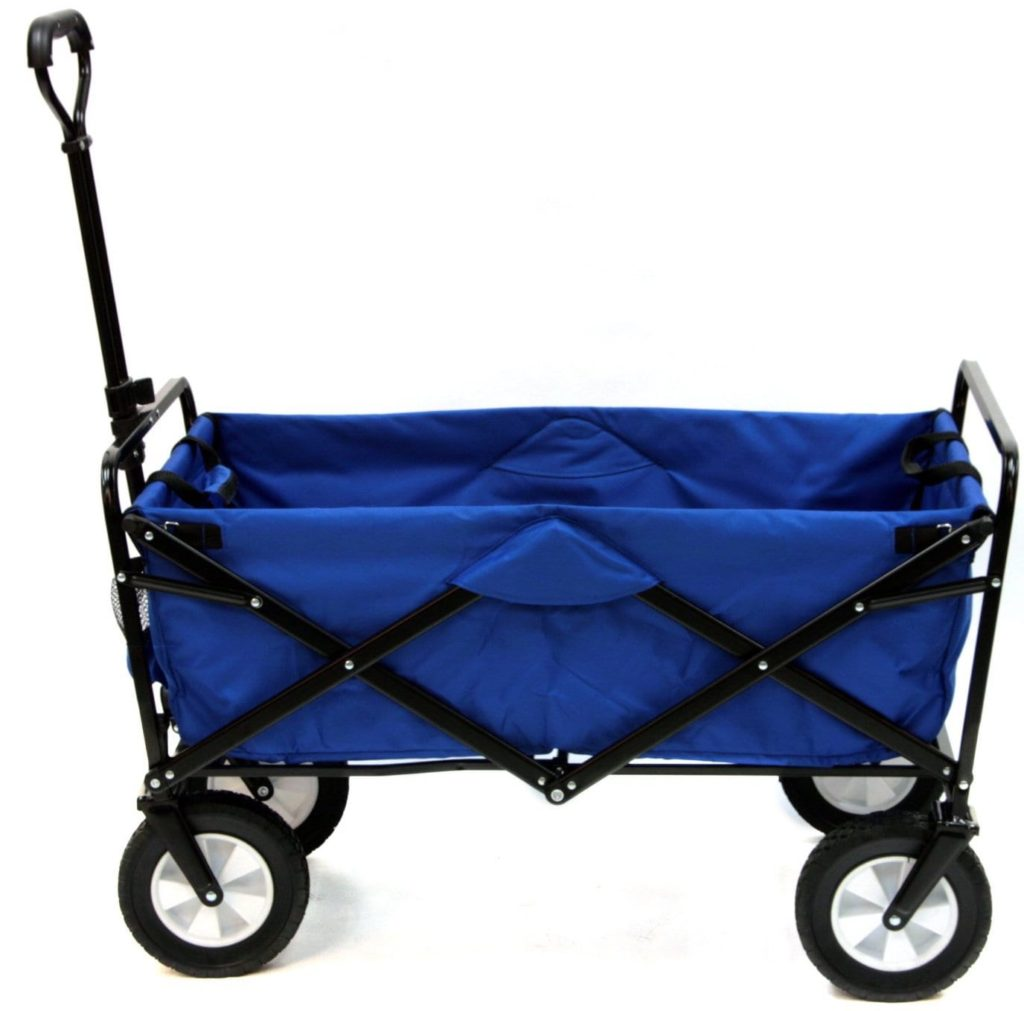 Mac Sports Collapsible Folding Outdoor Wagon